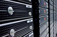 Worldwide computer web hosting servers with high uptime reliability
